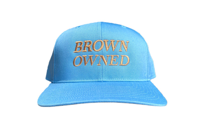 Brown Owned Blue Snapback