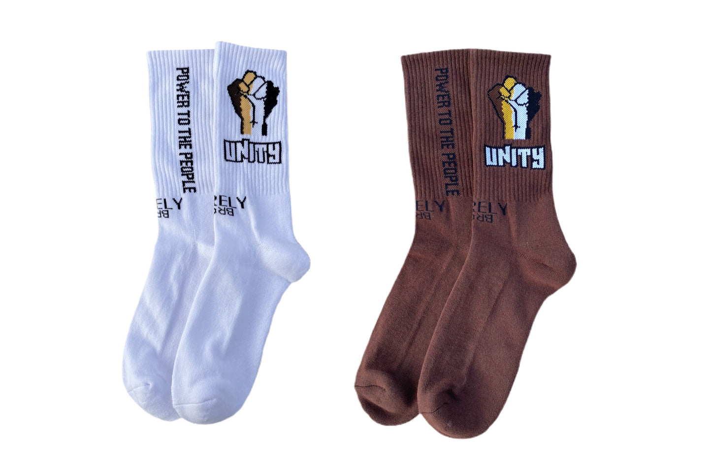 UNITY FIST 2- PACK SOCKS