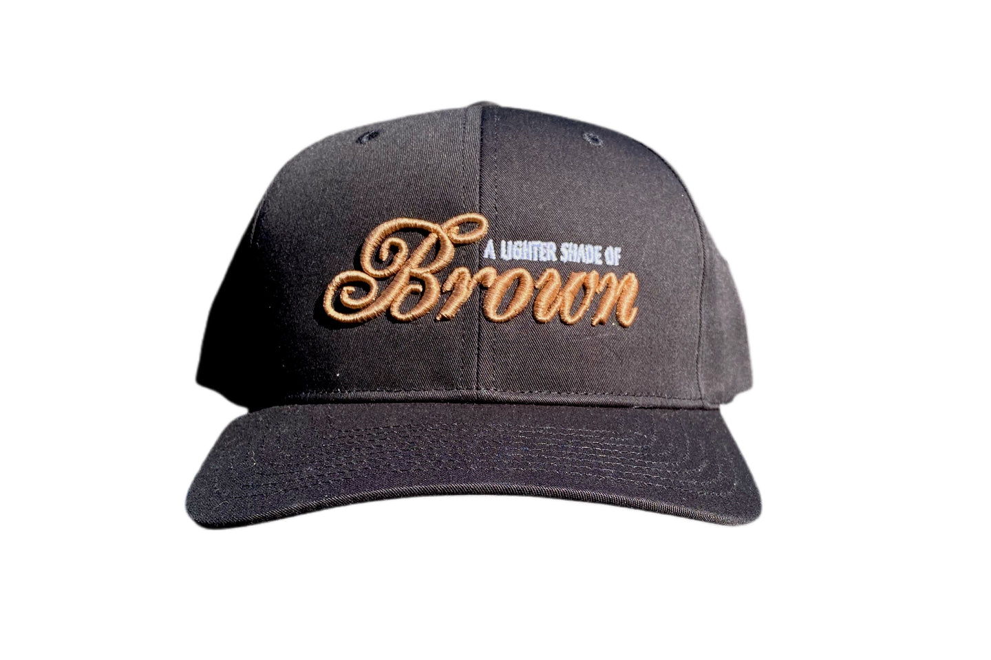 Lighter Shade Of Brown x Barely Broke Black Hat
