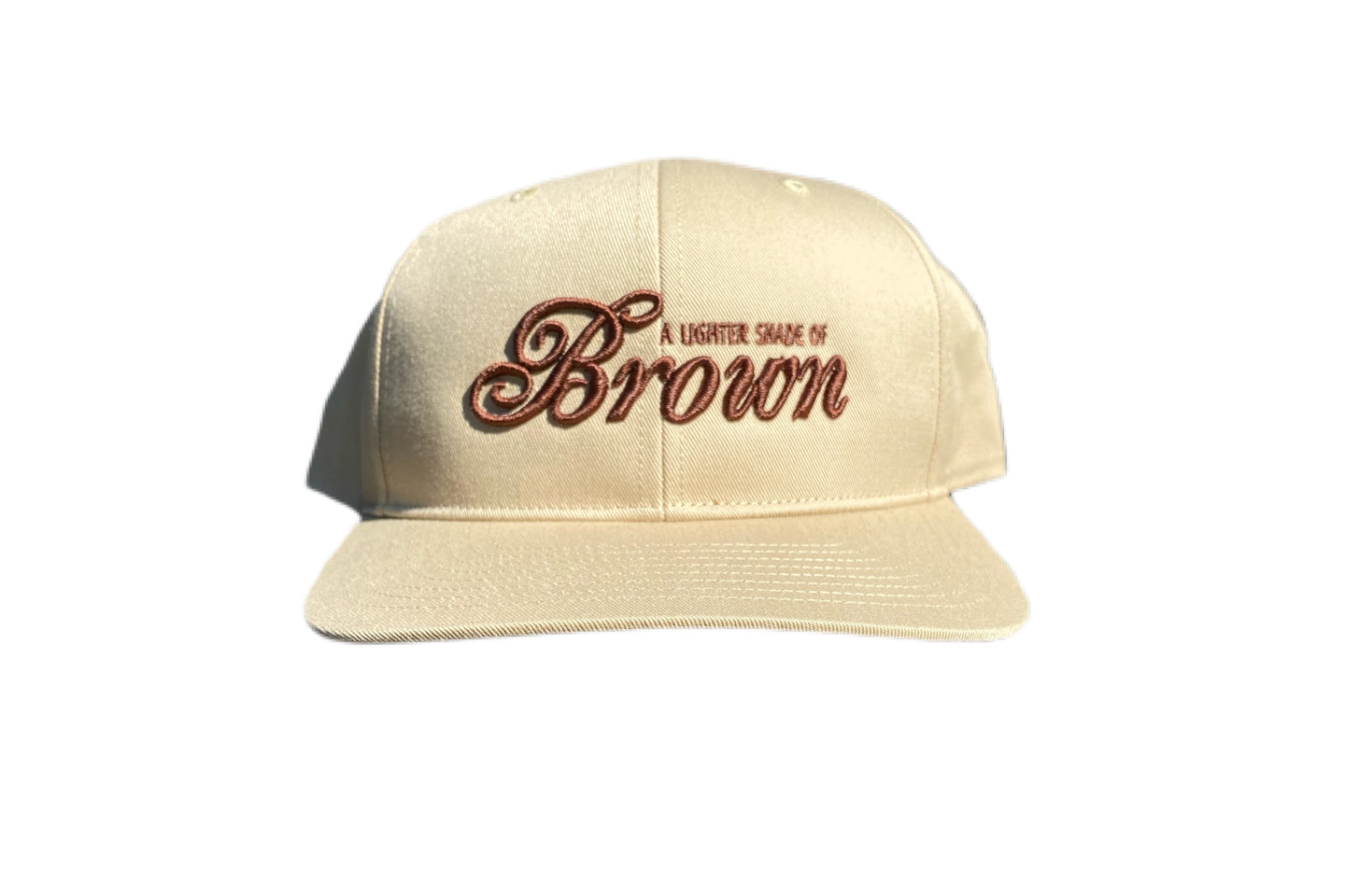 Lighter Shade Of Brown x Barely Broke Tan Hat