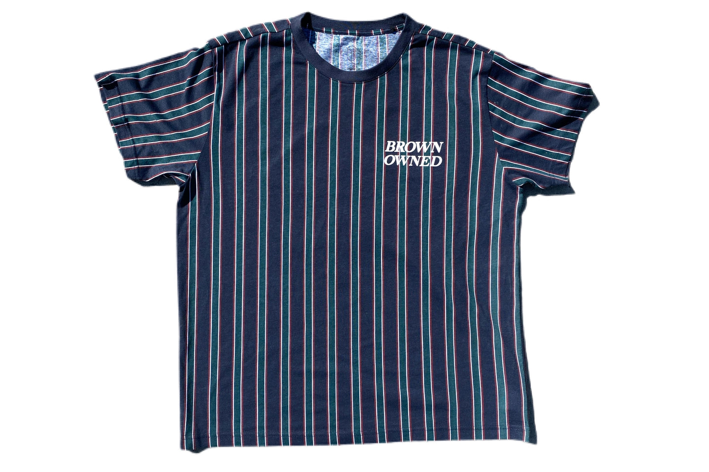 Brown-Owned Striped Limited Edition Shirt