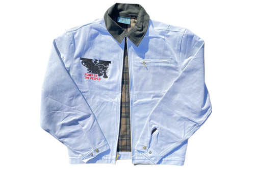 PANTHER FARMER White WORK JACKET - LIMITED EDITION