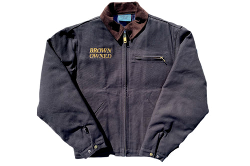 Brown-Owned Black Work Jacket