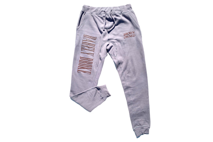 Brown-Owned Stone Sweatpants