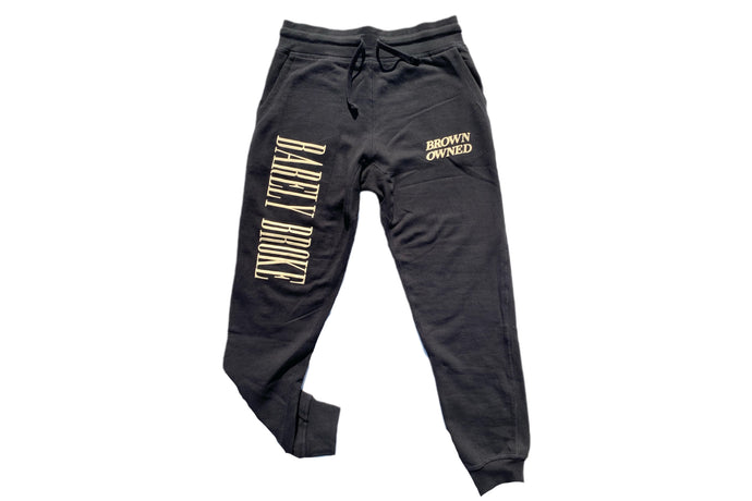Brown-Owned Black Sweatpants