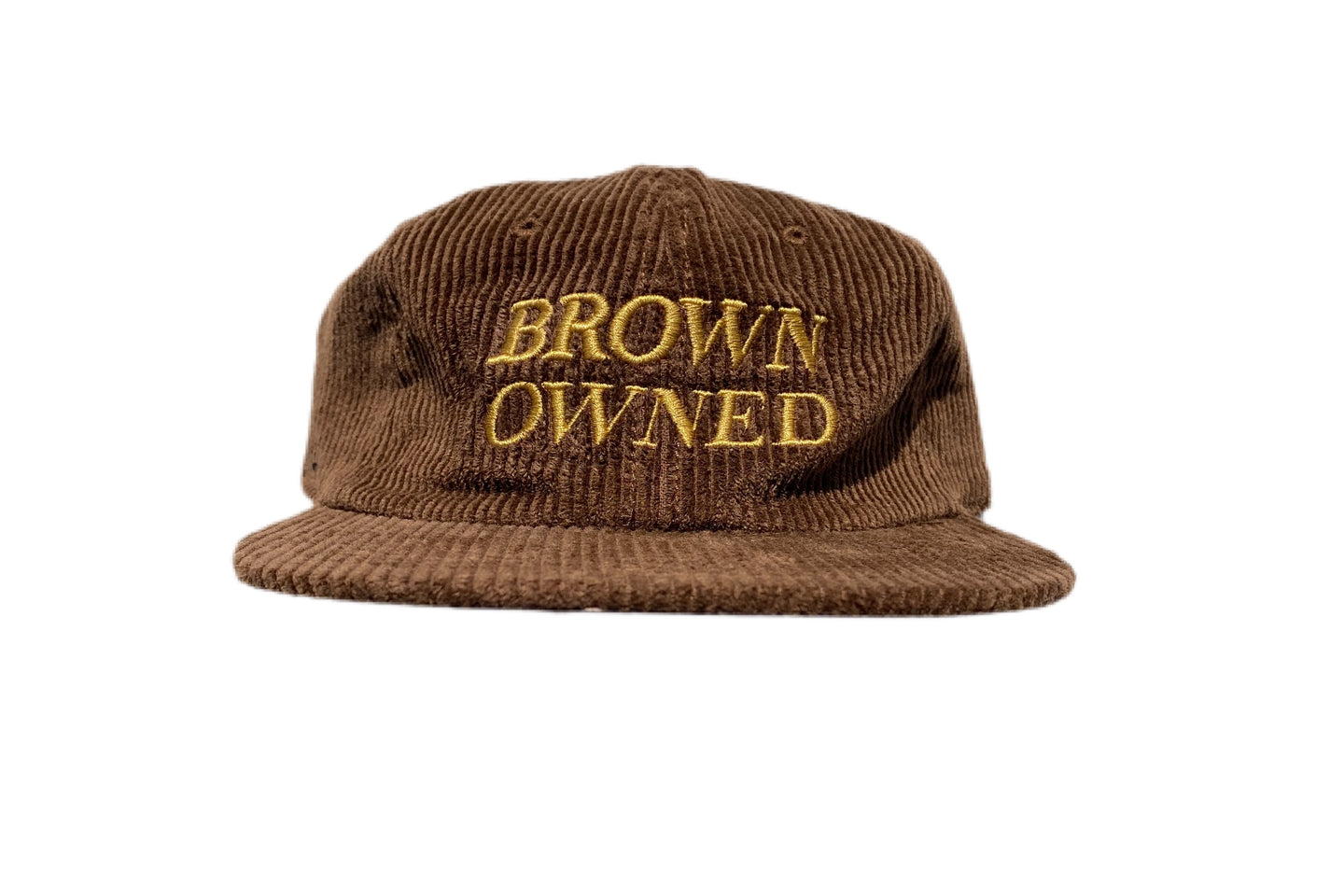 Brown Owned Cord Strapback