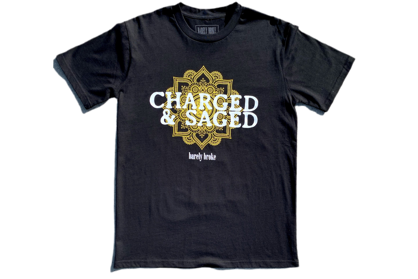 Charged & Saged Black Tee ( Palalma Collaboration )
