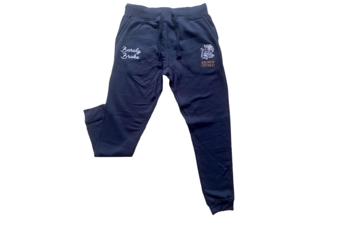 Brown-Owned Aztec Navy Sweatpants