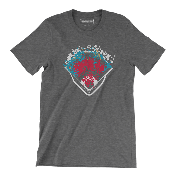 The 2K Spray - Adult Unisex T-Shirt - Dark Gray - Pick & Shovel Wear