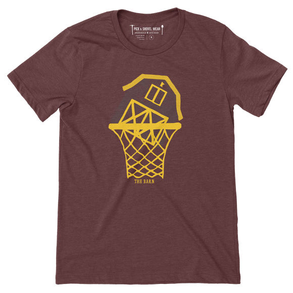 The Barn - Minnesota Basketball - Adult Unisex T-Shirt