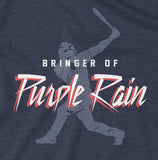 Bringer of Purple Rain - Unisex T-Shirt - Pick & Shovel Wear