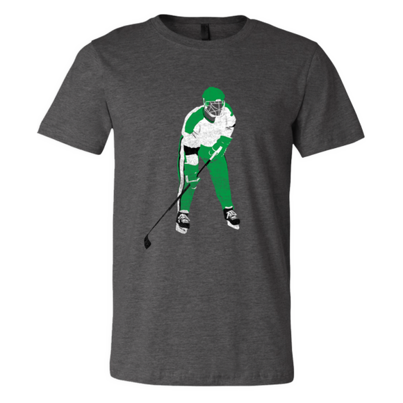 Cooperall Cat Eye Mask - Classic Hockey Gear - Green - Unisex T-Shirt - Pick & Shovel Wear