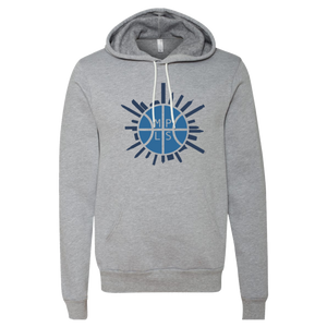 Hoop City - Unisex Hooded Pullover Sweatshirt - Pick & Shovel Wear