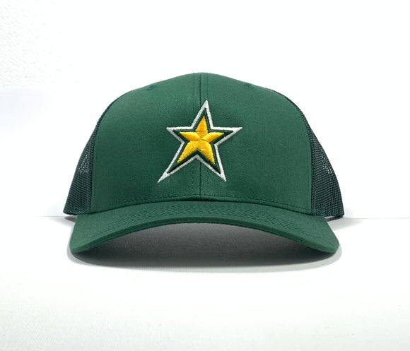 North Star  - Snapback Cap - Green