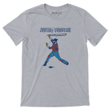Justin Bunyeau - Adult Unisex T-Shirt - Pick & Shovel Wear