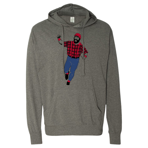 Kirby Bunyan - Lightweight Hooded Pullover T-Shirt - Pick & Shovel Wear