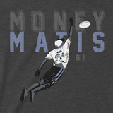 Money Matis - Minnesota Ultimate Disc - Adult Unisex T-Shirt - Pick & Shovel Wear