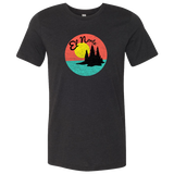 El Norte - Adult Unisex T-Shirt - Heather Black - Pick & Shovel Wear