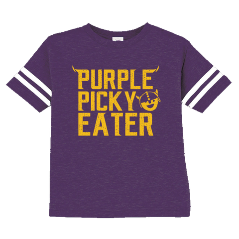 Purple Picky Eater - Toddler Jersey Tee - Pick & Shovel Wear