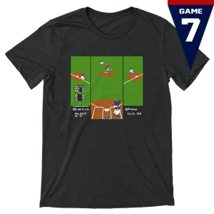 RBI Game 7 - Unisex T-Shirt - Heather Black