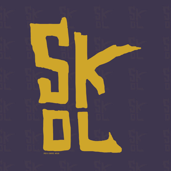 Skol State - Adult Unisex Zip Hoodie - Pick & Shovel Wear