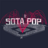 Sota Pop - Minnesota Baseball - Adult Unisex T-Shirt - Pick & Shovel Wear