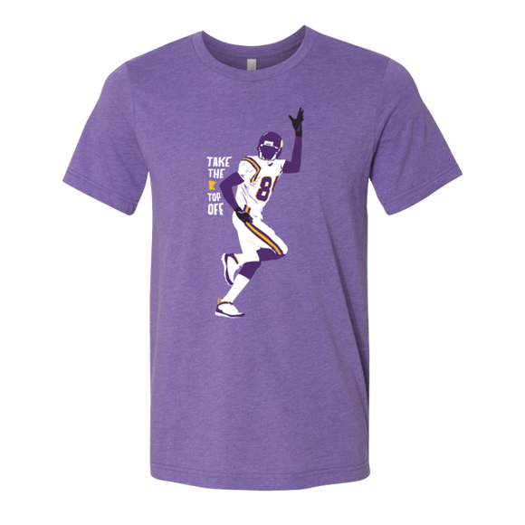 Take the Top Off - Minnesota Football - Unisex T-Shirt - Pick & Shovel Wear