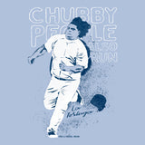 Chubby People Also Run - La Tortuga - Adult Unisex T-Shirt - Pick & Shovel Wear