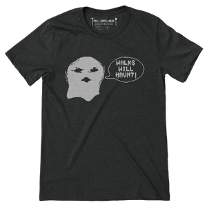 Walks Will Haunt - Minnesota Baseball - Unisex T-Shirt - Pick & Shovel Wear