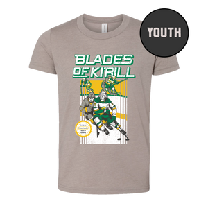 Blades of Kirill - Unisex T-Shirt - Youth
