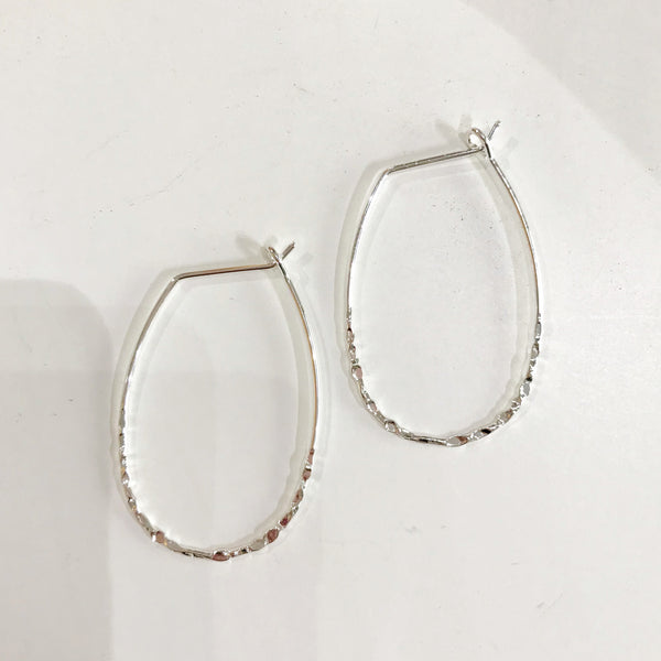 SUZETTE EARRINGS - SILVER