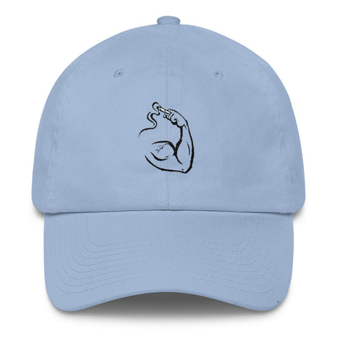 Flexed Arm Dad Cap