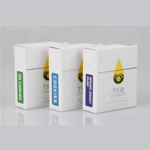 1g TKO Extracts Cart Cartridge WITHOUT Battery Kit