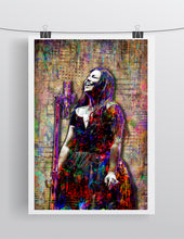 Amy Lee of Evanescence Poster, Evanescence's Tribute Fine Art