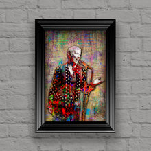 Annie Lennox of The Eurythmics Poster, Annie Lennox Tribute Fine Art