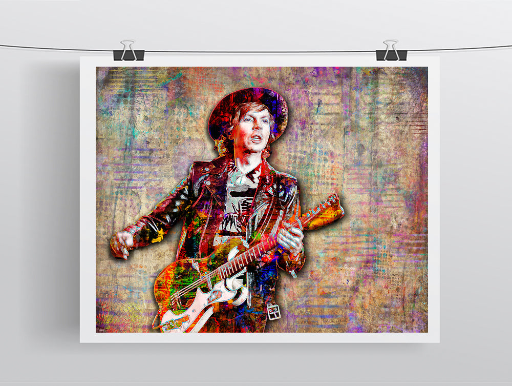 Beck Pop Poster, Beck Pop Gift, Beck Tribute Fine Art