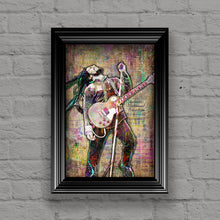 Bob Marley Poster, Bob Marley and The Wailers Portrait Gift, Bob Marley Tribute Fine Art