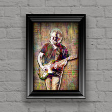 Bob Weir of The Grateful Dead Poster, Dead and Company Tribute Fine Art