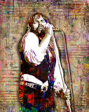 Bob Seger Poster, Bob Seger and The Silver B Band 3 Gift, Fine Art