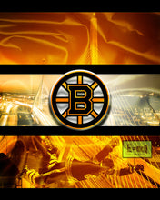 Boston Bruins Hockey Poster, Boston Bruins Hockey Print Bruins Gift, Man Cave