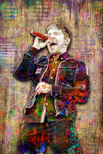 Brent Smith Shinedown Poster, Shinedown Tribute Fine Art