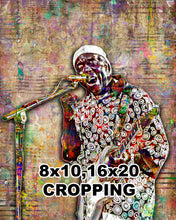Buddy Guy Poster, Buddy Guy Tribute Fine Art
