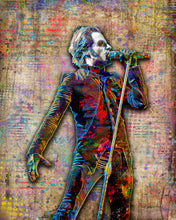 Cardinal Copia Poster, Cardinal Copia of Ghost Gift, Ghost Tribute Fine Art