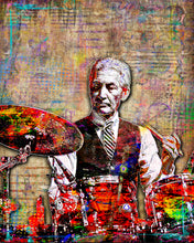 Charlie Watts Poster, Rolling Stones Gift, Charlie Watts Tribute Fine Art