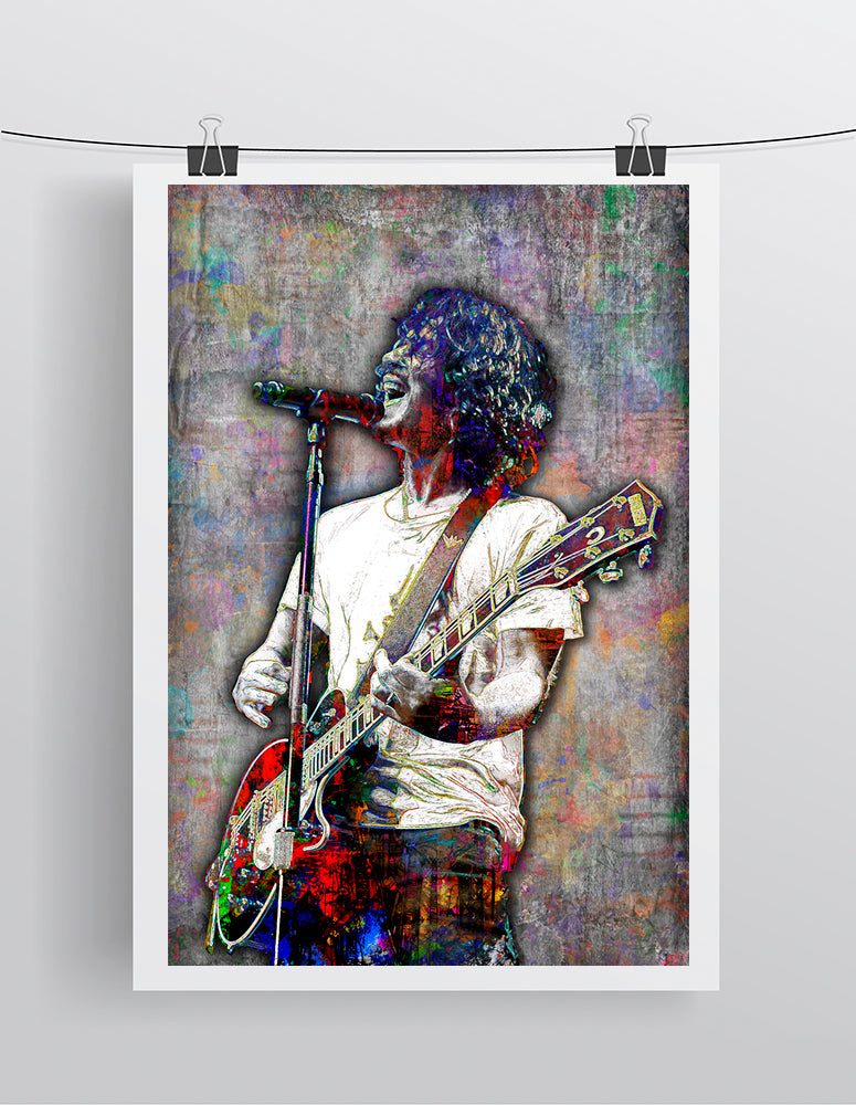 Chris Cornell Tribute Poster, Chris Cornell Tribute Fine Art Poster