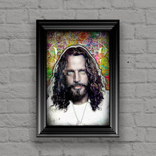 Chris Cornell Portrait Poster, Chris Cornell Tribute Fine Art Poster