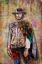 Clint Eastwood Poster, The Good The Bad And Ugly Tribute Fine Art