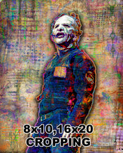 Corey Taylor of Slipknot Poster, Slipknot Tribute Fine Art