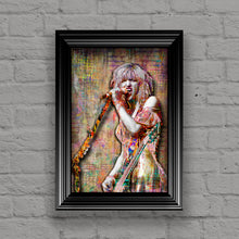Courtney Love of Hole Poster, Hole Tribute Fine Art