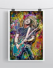 Dave Grohl Foo Fighters Poster, Dave Grohl Pop Art, Dave Grohl Tribute Fine Art